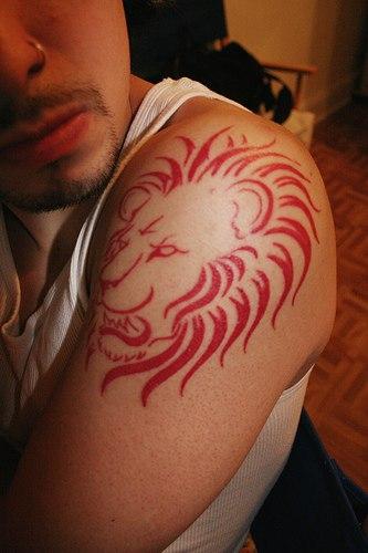 lion tattoo pictures. Black Bedroom Furniture Sets. Home Design Ideas