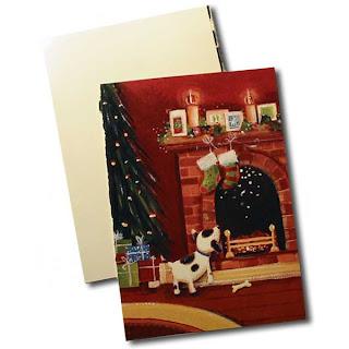xmascard box2 Christmas Card Gift Box