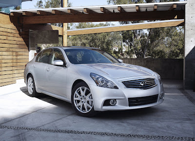 Infiniti G37 Sedan New Sports Model Dynamic Car 2010