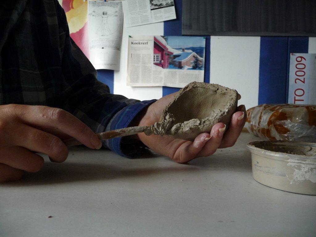 Vizi keramiek hoe maak je een holle bol van klei - Hoe een kamer van een kind te versieren ...