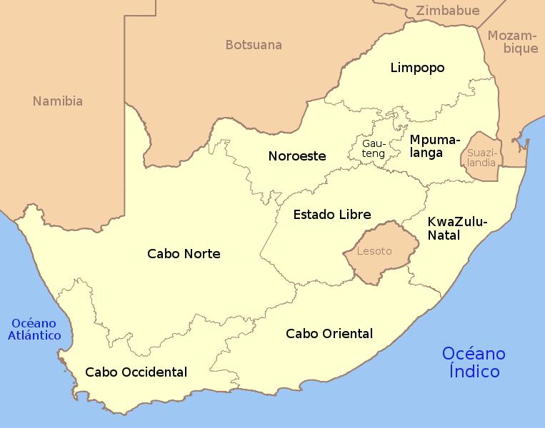 Bienvenidos a sud frica organizaci n pol tico for Provincia sudafricana con durban