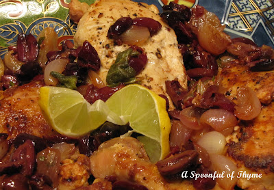 A Spoonful of Thyme: Pan Roasted Chicken with Olives and ...