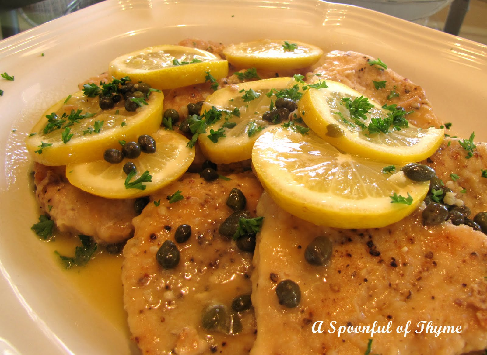 A Spoonful of Thyme: Chicken Piccata