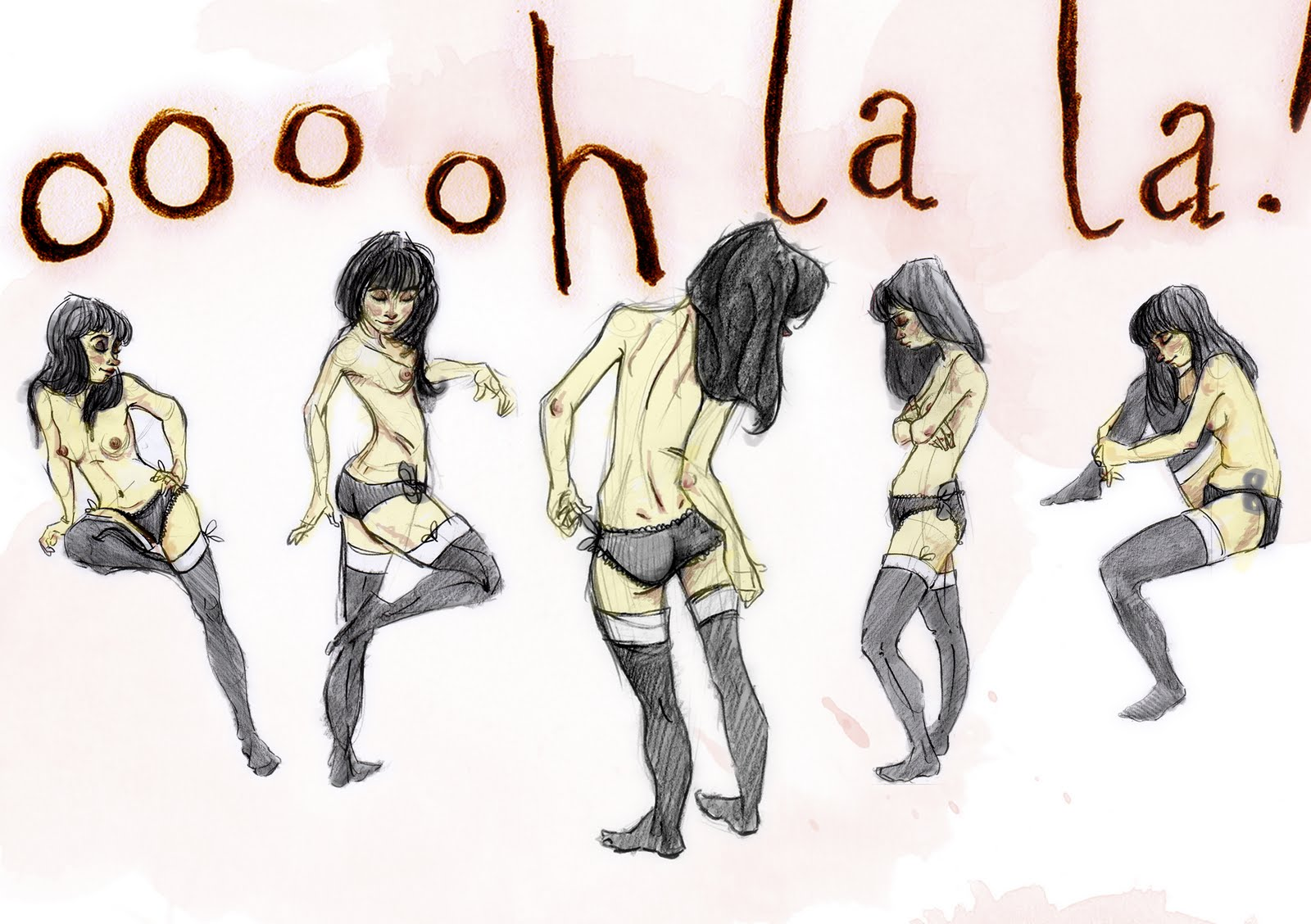 Oooh stacey bradshaw's blog thing: oooh la la!