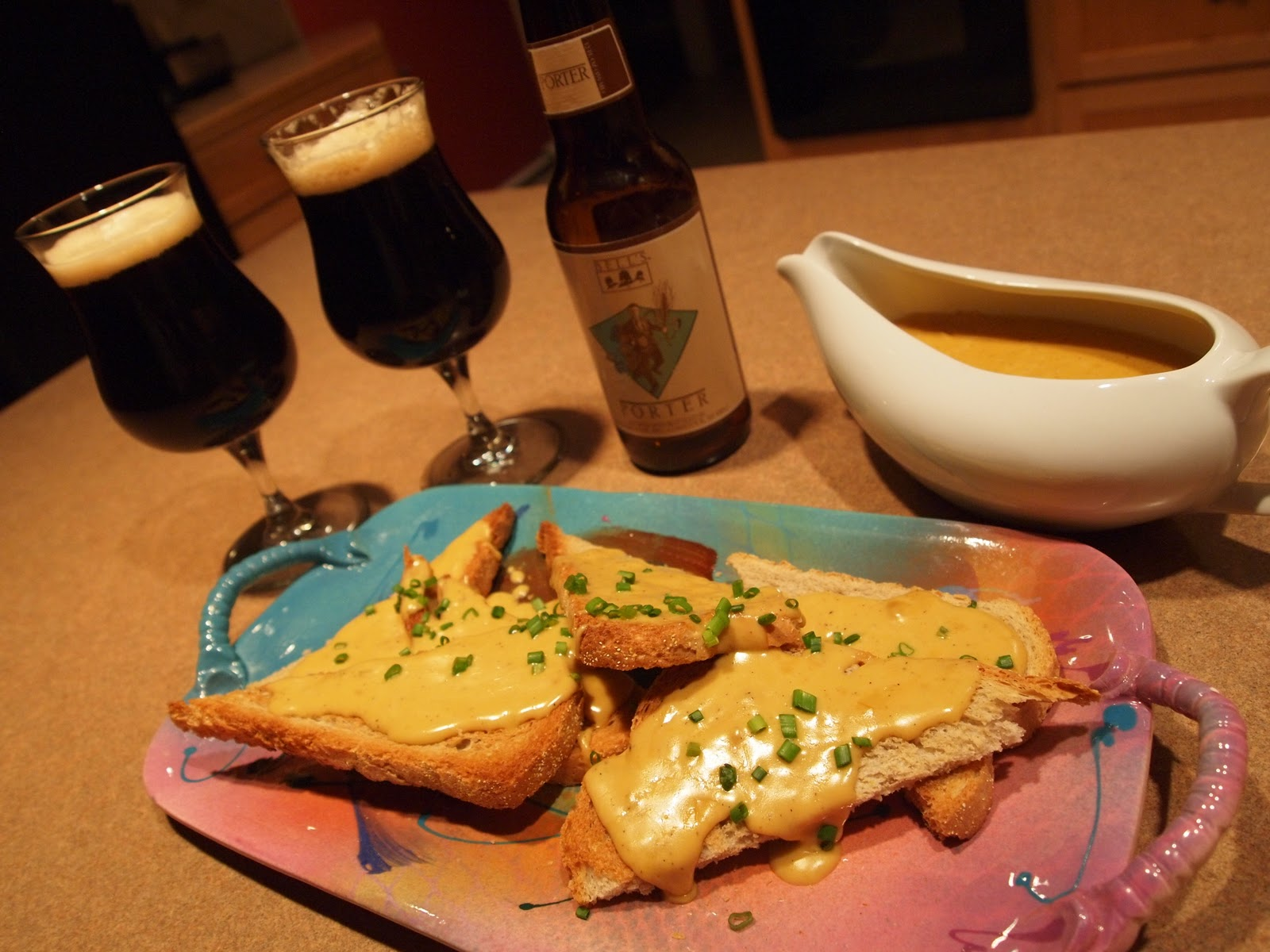 Bell's Porter Welsh Rarebit ~ Michigan Beer Blog