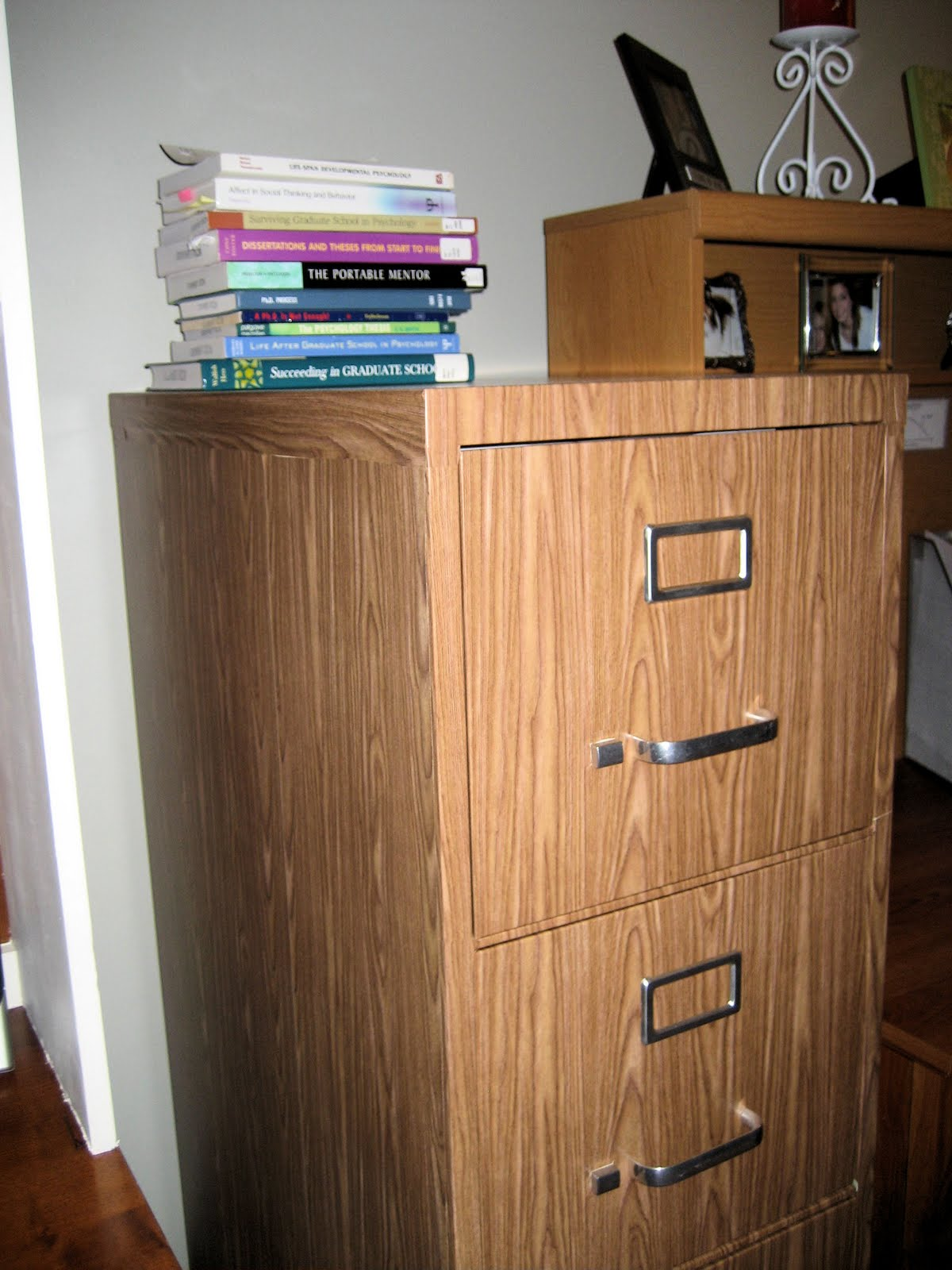 Tutorial How To Cover A File Cabinet With Contact Paper
