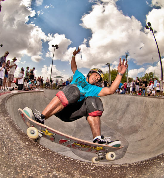 Sergie Ventura at Bowl-A-rama in Houston