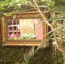 espelho do jardim