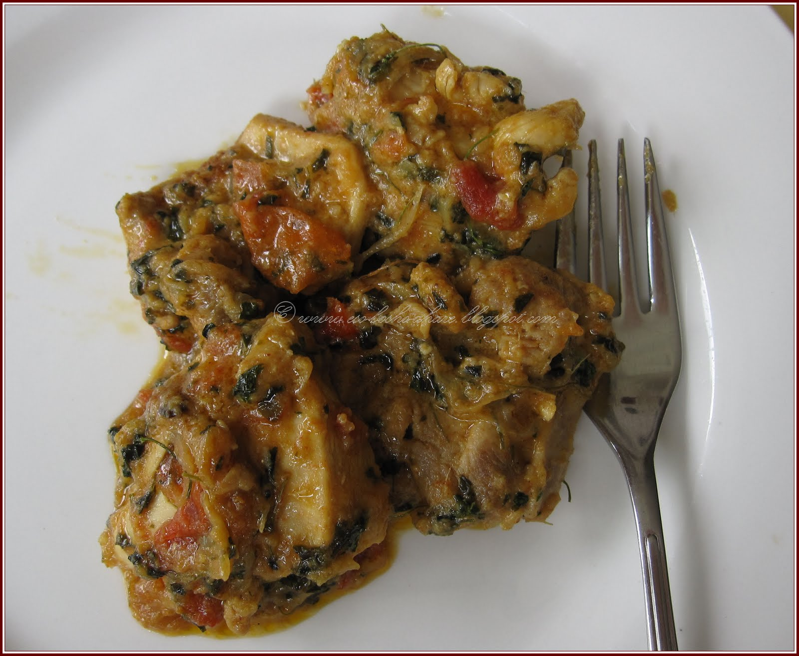 Taste Buds: Methi Chicken (Chicken with dried funegreek leaves)