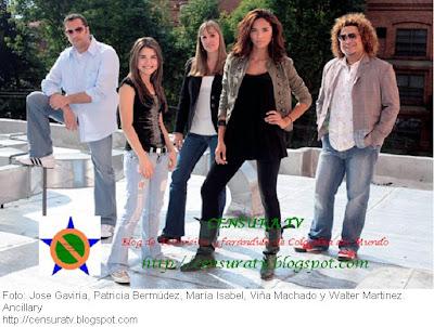 Jose Gaviria, Patricia Bermudez, Maria Isabel, Viña Machado y Walter Matinez, Ahora son Ancillary