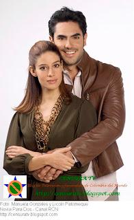 Licoln Palomeque y Manuela Gonzales