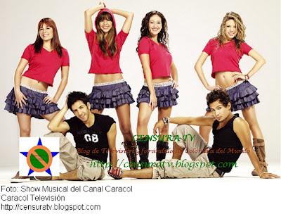 Daniela Castellanos, Lina María Hoyos, Natalia Rodríguez, Laura González, Jaime Ortiz, y Juan Camilo Londoño, fueron seleccionados para conformar el Show Musical Caracol