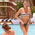 Whitney Port: Chilling poolside in Miami