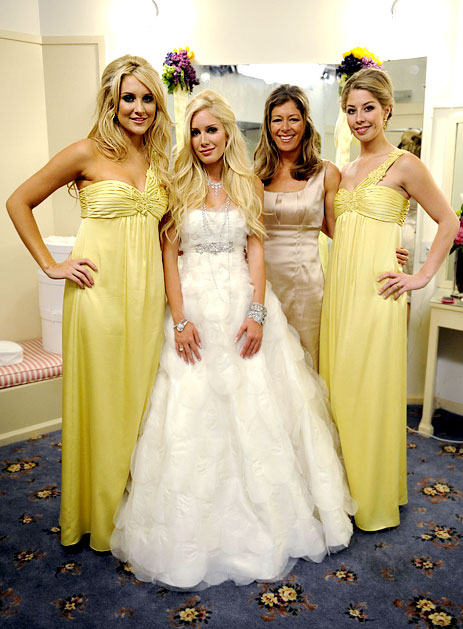 heidi montag wedding dress. heidi montag wedding dresses.