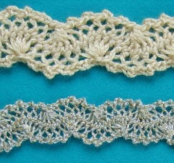 Free Crochet Pattern - Rick Rack Edging from the Edgings Free