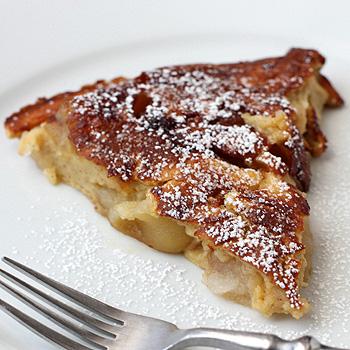 The Galley Gourmet: German Apple Pancake