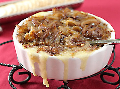 The Galley Gourmet: Baked Brie with Caramelized Onions