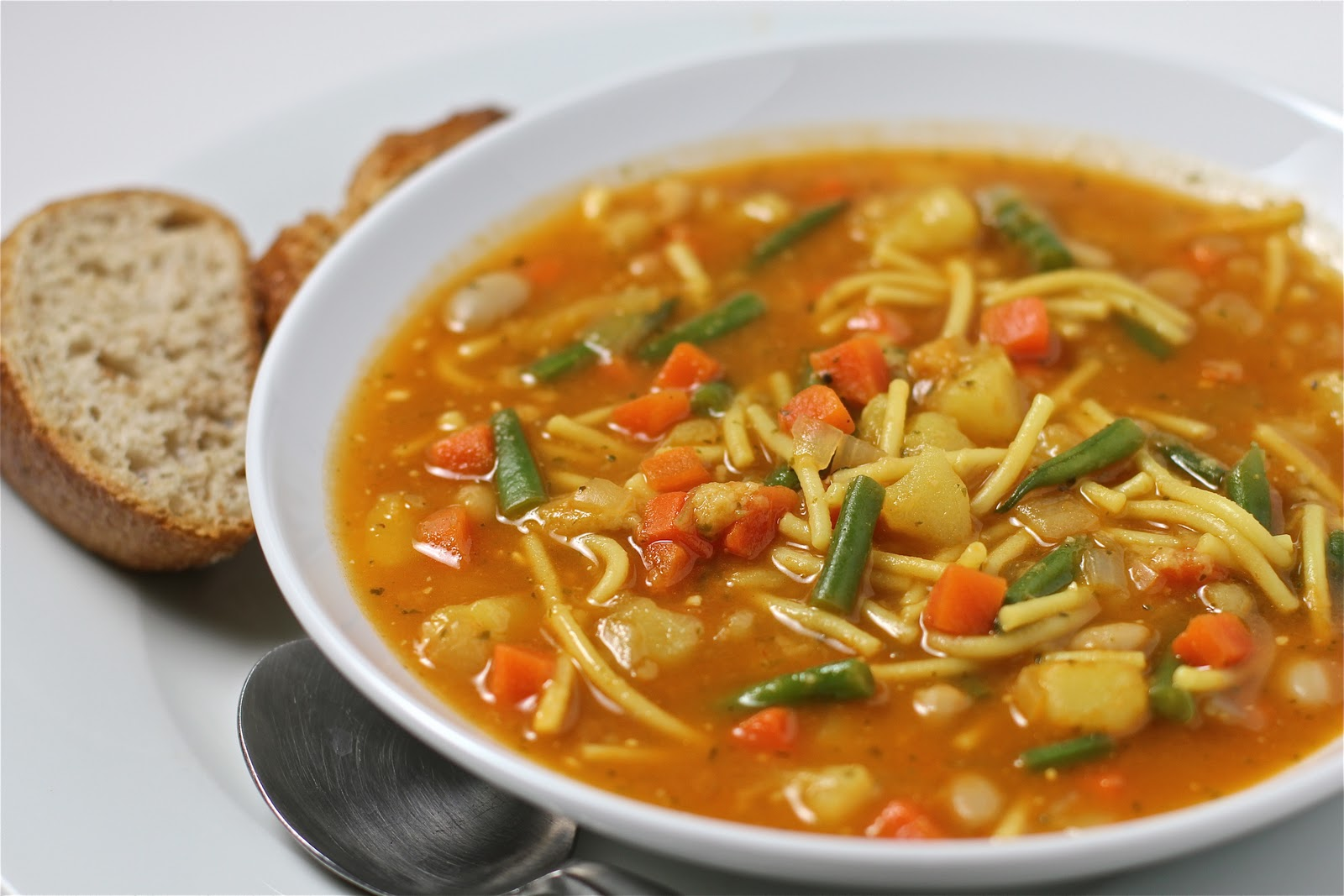 Provencal Vegetable Soup: Soupe au Pistou Recipe : Food Network