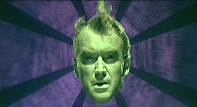 Closeup Vertigo Jimmy Stewart