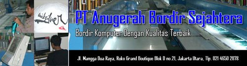 Banner Anugerah Bordir