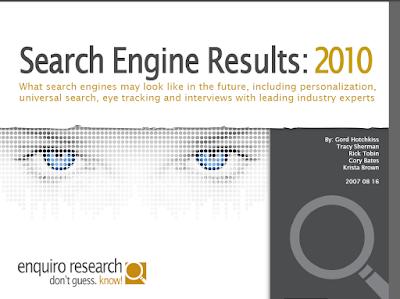 Search 2010 Enquiro Whitepaper