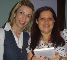 Eu e Dra.Carmem Monari, Diretora do Bach Center no Brasil