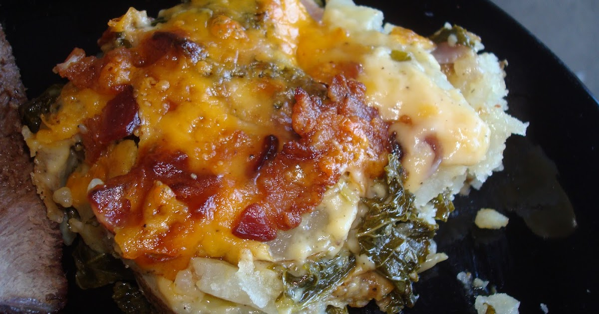menu managed: Kale and Potatoes au Gratin