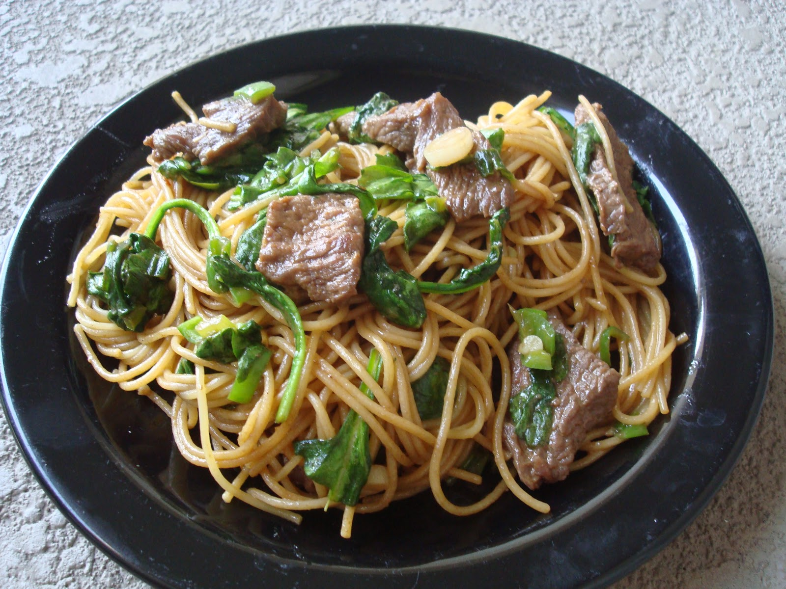 Beef Broccoli lo Mein Beef And Spinach lo Mein