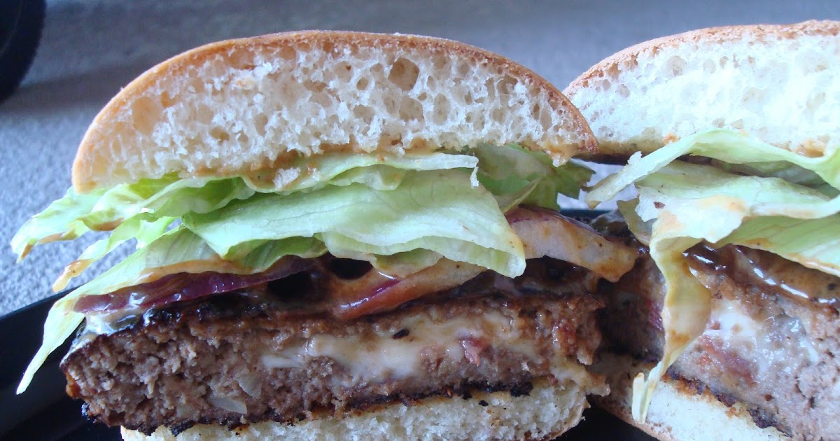 menu managed: Stuffed Grilled Burgers