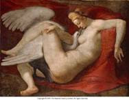 Leda and the Swan by Michelangelo Buonarroti