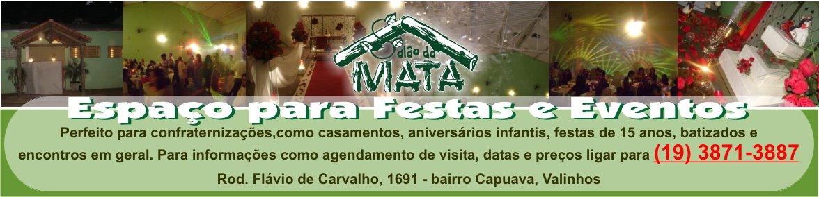 SALÃO DA MATA - Espaço para Festas e Eventos