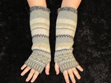 Shetland Pure New Wool Gloves