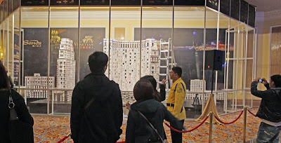 World's Tallest House of Cards