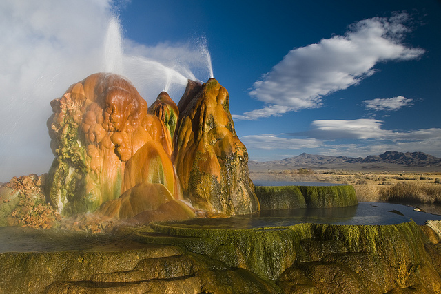 Fly Geyser Seen On  www.coolpicturegallery.us