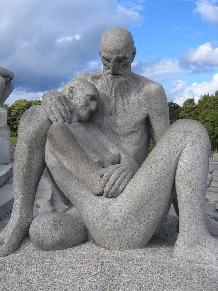Frogner+Gustav+Vigeland+Sculpture+Park+In+Norway%252C+Oslo+%25283%2529