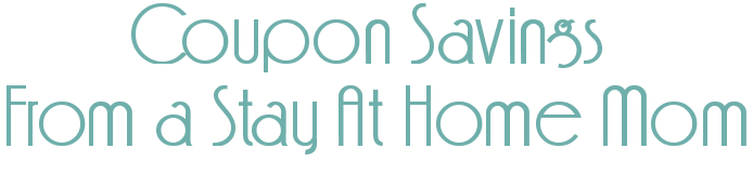 Coupon Savings From a Stay At Home Mom