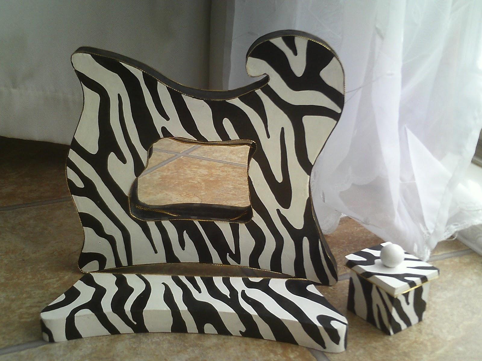 Galerie meubles for Miroir zebre