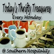 Today's Thrifty Treasures Monday