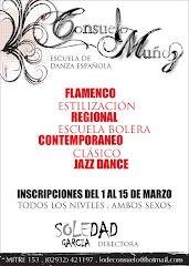 Escuela de danza española                       CONZUELO MUÑOZ