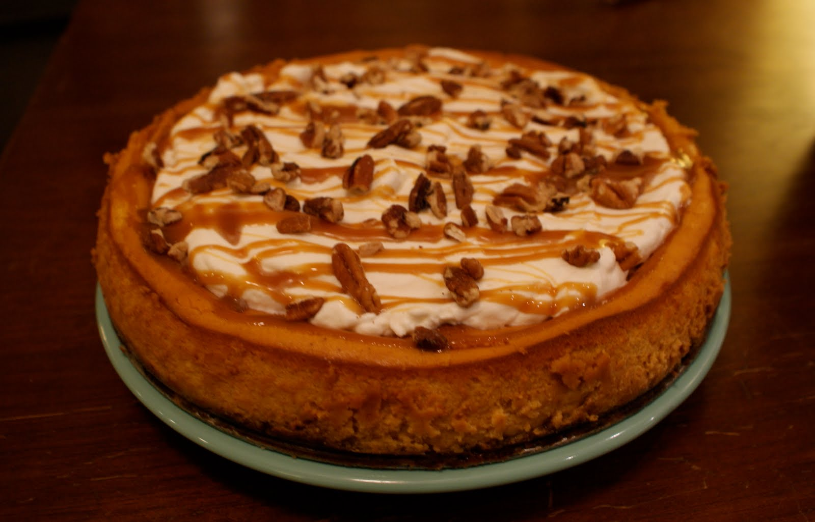 Babbling Brooke: Pumpkin Pecan Cheesecake