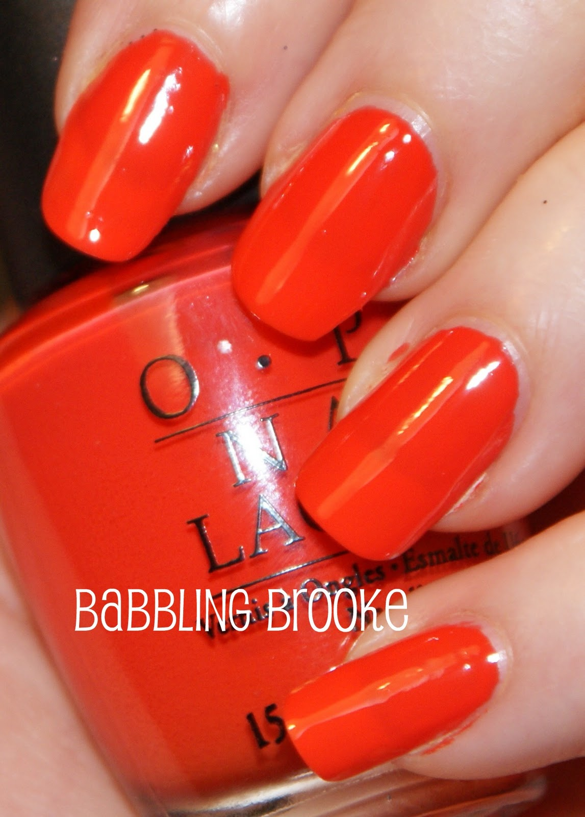 Today I have OPI A Good Opi A Good Mandarin Is Hard To Find Vs Hot And Spicy