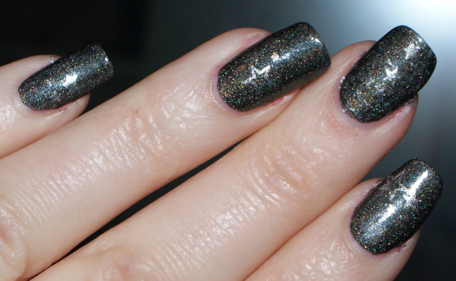 Modern Winter Manicure
