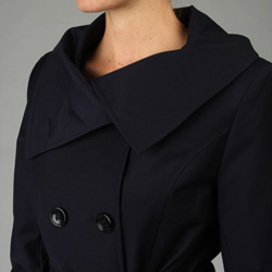 Stay warm and stylish in chic trench coat from DKNY * Women's outerwear is a ...