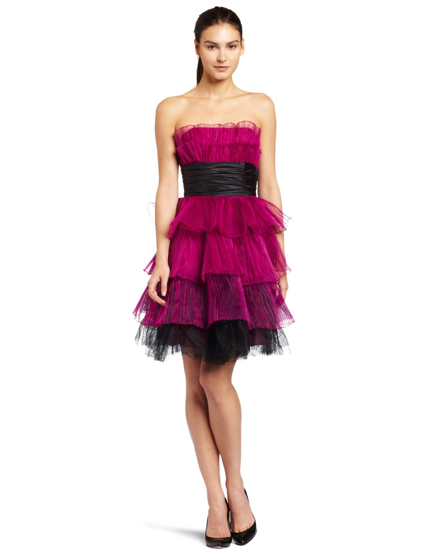 betsey johnson s tiered dress