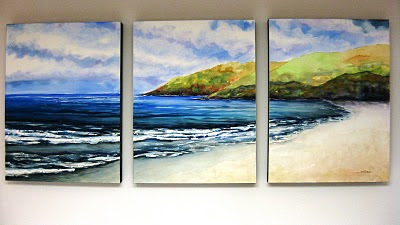 Mounting Large Water Color Paintings