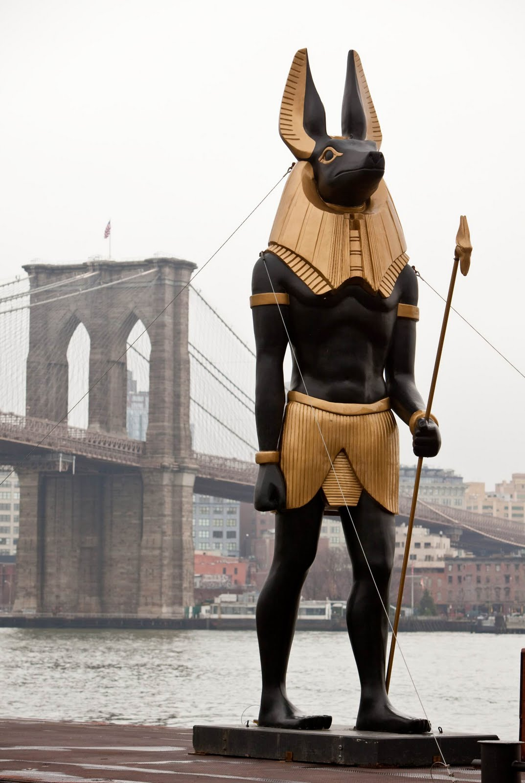 Good News Is That This Morning They >> Egyptology News: Photo for Today - Anubis tours New York