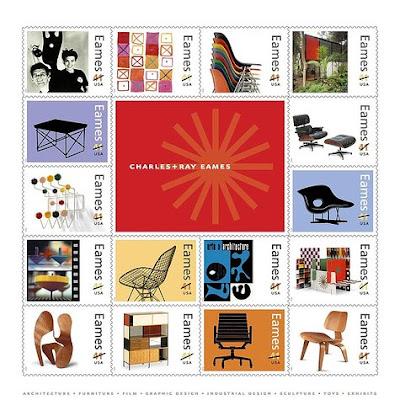 Décoration d'intérieur: Charles et Ray Eames, stickers muraux, sticker design, sticker mural, adhésif mural