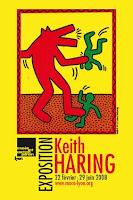 Décoration d'intérieur: Keith Haring,stickers muraux, sticker design, sticker mural, adhésif mural