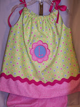 Pillowcase dress with bloomers