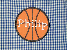 Basketball Applique with name